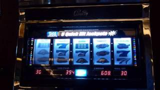 Star & Bars Slot Machine Bonus Win (queenslots)