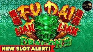 •️NEW SLOT - FU DAI LIAN LIAN•️ DRAGON and PANDA WEIRD BONUS 福袋连连 by ARISTOCRAT Slot Machine