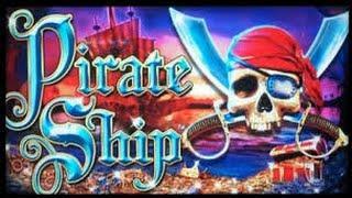 *TBT* Pirate Ship - WMS Slot Machine Bonus Win