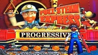 Full Steam Express *MAXI* Slot Progressive Win|NEW Slot - Slot Machine Bonus