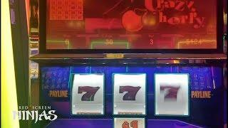 VGT SLOTS - CHASING PROGRESSIVE CRAZY CHERRY $969,109.75 AT RIVERWIND CASINO