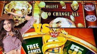 BIG WIN• 100X• •Buffalo Gold• VS  •5 Dragons Grand• who will WIN•