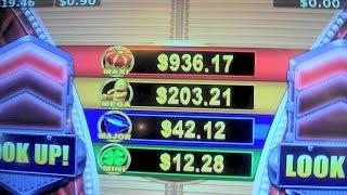 "THE #BOOMSHAKALAKA TRIFECTA - Gypsy Fire ""Jackpot Feature"" Slot Machine Big Win"
