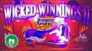 Wicked Winnings II 95% payback slot machine, bonus