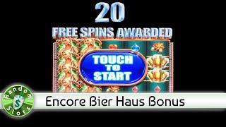 Bier Haus slot machine, Encore 20 Bonus Spins