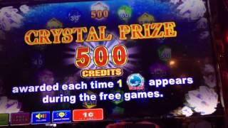 Crystals Bonus On 30 Cent Bet