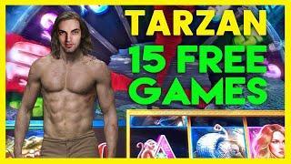 •TARZAN•15 Free Games•Cosmo LAS VEGAS & San Manuel Casino • BCSlots