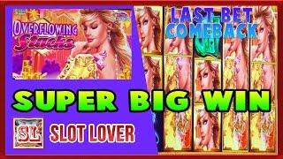 SUPER BIG WIN ON OVERFLOWING STACKS AT MAX BET AND OTHER POKIE GAMES * SLOT LOVER *
