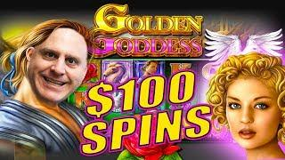 $100 SPINS Pay Out JACKPOT AFTER JACKPOT •Golden Goddess Slots | The Big Jackpot