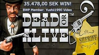 Dead Or Alive 35.478,00 SEK WIN!