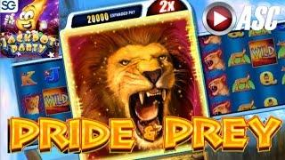 •JACKPOT PARTY CASINO FRIDAY• PRIDE & PREY | SPEED SPINS (SG/WMS) •GAME REVIEW!•