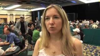 Victoria Coren Vicky Coren  - PCA 09: Coren makes Day 3  PokerStars.com