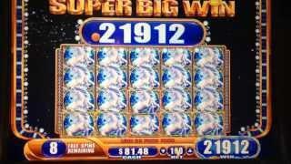 Mystical Unicorn Slot machine FULL SCREEN Bonus WIN (#4)