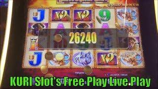 •SUPER BIG WIN ! FREE PLAY LIVE•BUFFALO'S DAY ! Buffalo Deluxe (Fast Cash) & Buffalo Gold Slot•彡栗スロ