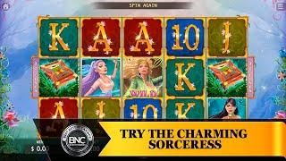 Try the Charming Sorceress slot by KA Gaming