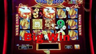 Dancing Drums Slot Machine • Big Win • Bonus !!! Live Play