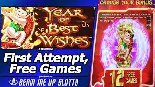 Year of Best Wishes Slot - First Attempt, New Konami Game