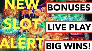 BIG WINS!! Live play and Bonuses on Tree of Wealth Slot Machine