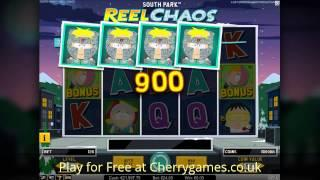 South Park Reel Chaos Slot - New Netent casino games