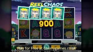 South Park Reel Chaos Slot - New Netent casino games