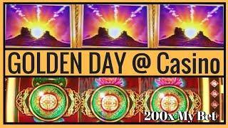 • 200X GOLDEN DAY @ Casino • Live Gambling at MGM • Las Vegas Slot Pokies