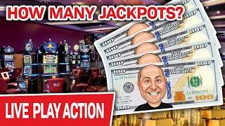 ⋆ Slots ⋆ WOW! Spending a TON of MY MONEY LIVE on SLOTS! ⋆ Slots ⋆ HOW MANY JACKPOTS Will I Hit?