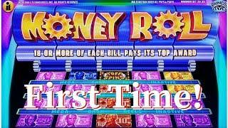 WHAT AM I PLAYING?!?!  MONEY ROLL & CRAZY MONEY DELUXE SLOT MACHINES