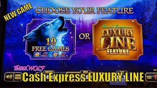 ⋆ Slots ⋆NEW GAME ! FUN ! BIG POTENTIAL ! ⋆ Slots ⋆CASH EXPRESS LUXURY LINE (TIMBER WOLF) Slot (Aris