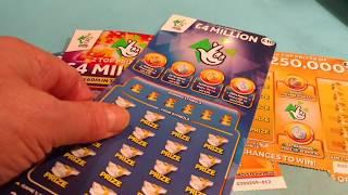 Wow!..Bonus Scratchcard game..Big Daddy & Uncle..250K Gold..777 Cash..MONOPOLY..