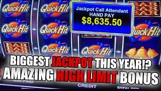 BIGGEST HIGH LIMIT JACKPOT ON YOUTUBE 2021 ⋆ Slots ⋆ QUICK HIT PROGRESSIVE WIN ⋆ Slots ⋆ INSANE FREE