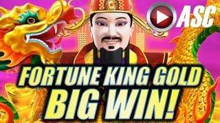•BIG WIN!• FORTUNE KING GOLD & 5 DRAGONS GOLD (Aristocrat) | Slot Machine Bonus
