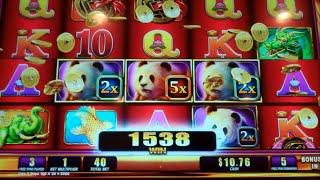 Far East Fortunes Deluxe Slot Machine Bonus - Winning Fortunes Progressives - 8 Free Games BIG WIN