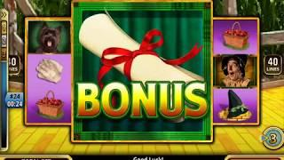 WIZARD OF OZ: FOLLOW THE YELLOW BRICK ROAD Video Slot Game with a PICK BONUS