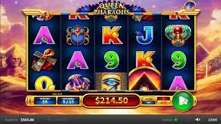 Queen Of The Pharaohs slots - 259 win!