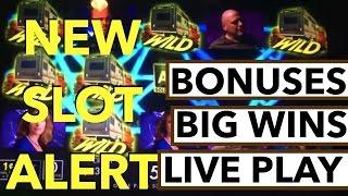 BIG WINS!!! LIVE PLAY and Bonuses on Breaking Bad Slot Machine