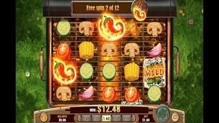 Sizzling Spins Online Slot from Play'n GO - Free Spins Triggered