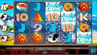 Wild Alaska Slot - NICE SESSION, ALL FEATURES!