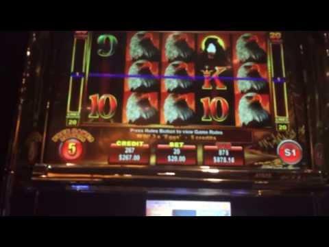 Eagle bucks JACKPOT HANDPAY high limit slot big bonus win