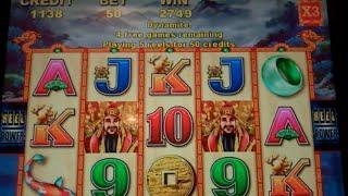 Choy Sun Doa Slot Machine Bonus - 15 Free Spins w/ Wild Multipliers - Nice Win