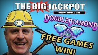 • BOOM! HANDPAY TIME on • Double Diamond Free Games •