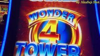 Wonder 4 Tower / NICE PROFIT• POMPEII and BUFFALO ( 5 DRAGON) San Manuel Casino. Akafuji Slot