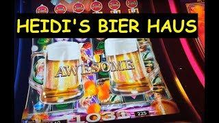 FUN WIN! Heidi's Bier Haus Slot Bonus!