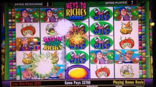 •Stinkin' Rich Slot machine•BONUS BIG WIN•$2.00 Bet//Plus Handpay of Dollar slot