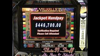 Massive Jackpot on Treasure of Valhalla HUGE! • Slots N-Stuff