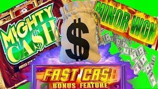 MIGHTY CASH $$$ •FAST CASH SLOT, WINNING AT THE CASINO• CASINO GAMBLING!!