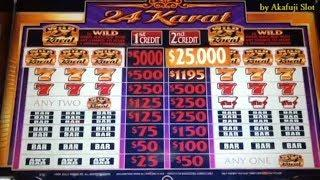 24 Karat $5 Slot - Max Bet $10 @ Pechanga Resort & Casino, 赤富士, アカフジ, カルフォルニア カジノ
