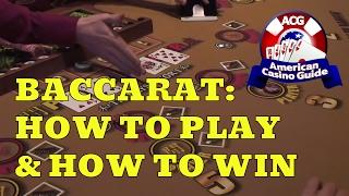 Baccarat - How to Play & How to Win!