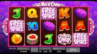 So Much Candy Online Slot Game Promo