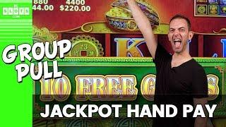 • $2,800 Group Pull •️ JACKPOT •️ Handpay w/ The Rudies! • BCSlots