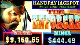 High Limit - THE ENFORCER  Slot Machine HANDPAY JACKPOT (Ainsworth) | •FANTASTIC SESSION• Live Slot